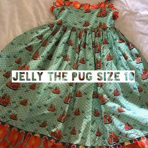 Jelly The Pug Twirl Dress Size 10